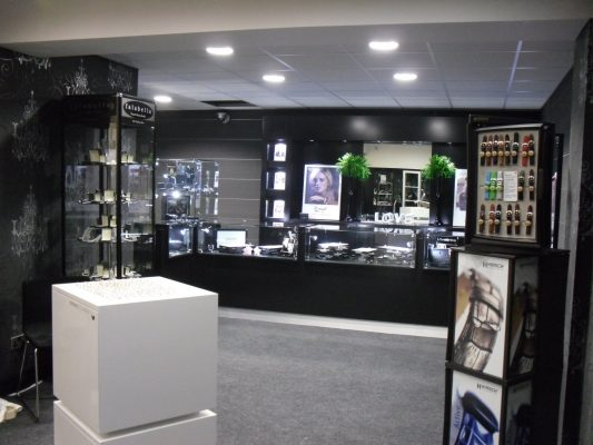 Inside Our Jewellery Shop