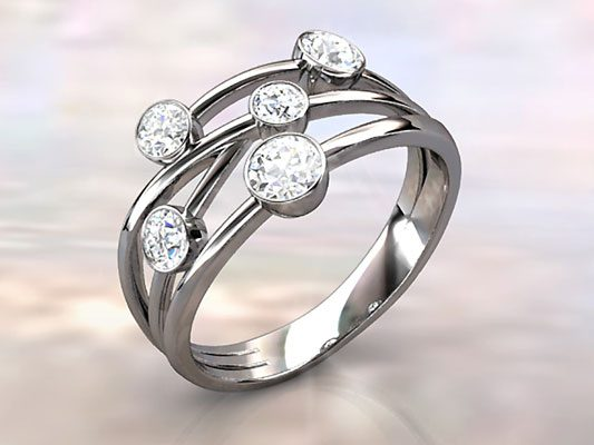 Raindance Diamond Ring
